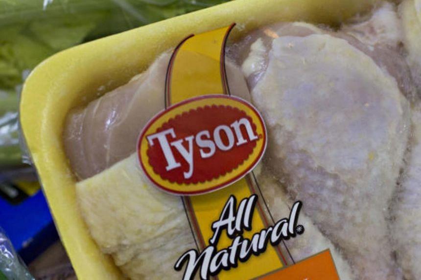 Tyson Foods' recall covered around 5.4 million kg of chicken strips.
