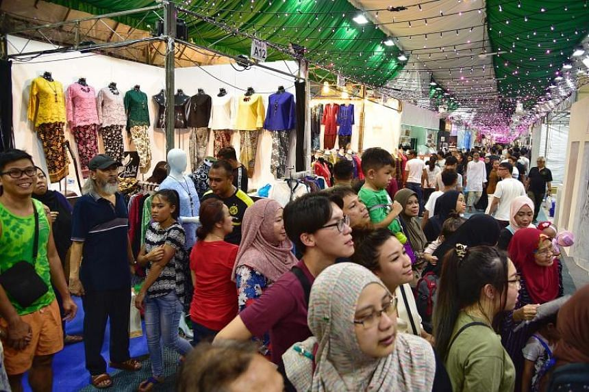 The annual Hari Raya Bazaar at Geylang Serai is one of Singapore's most popular pasar malam, or night market, held in conjunction with the Muslim holy month of Ramadan.