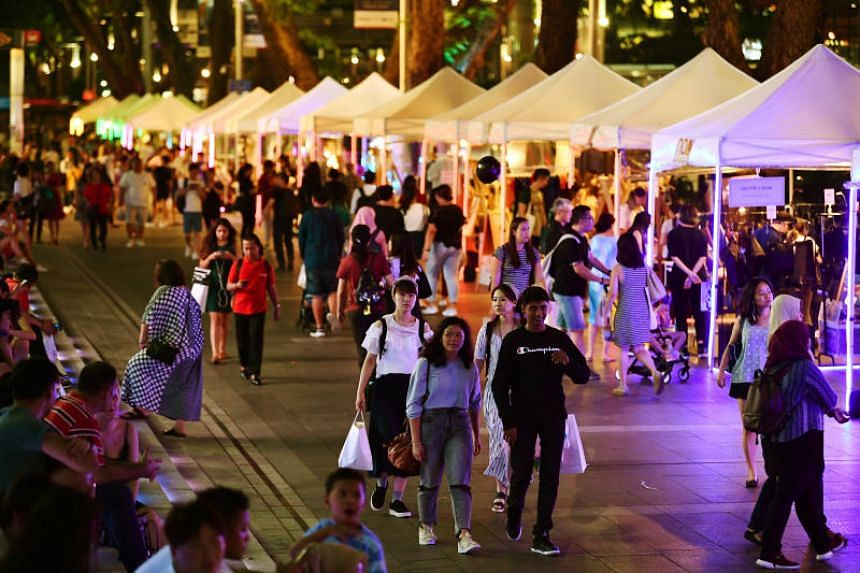 Over 8,500 visitors attended the first edition of Night At Orchard.