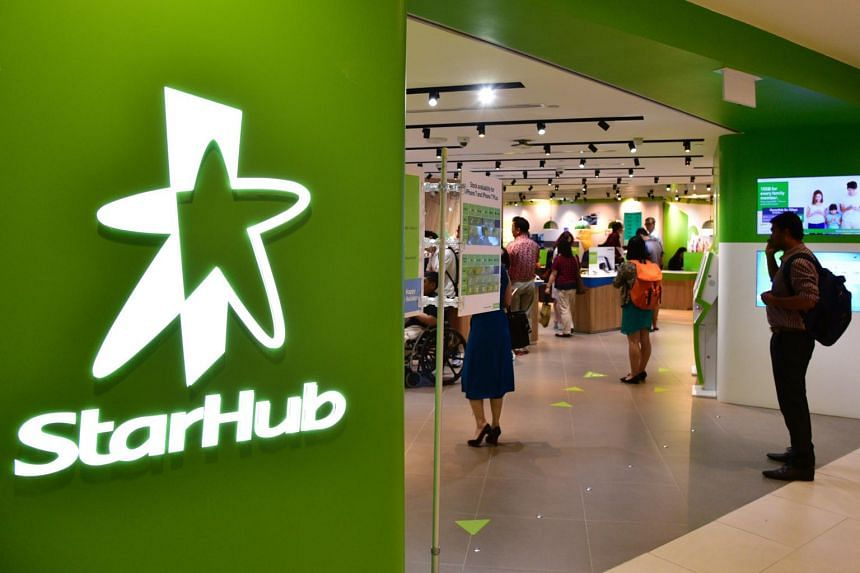 StarHub Shop at Plaza Singapura. Net profit fell 14.2 per cent to $54 million for the three months to March 31, compared with the same period last year.