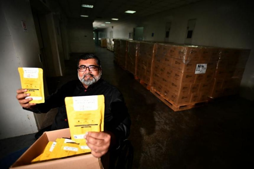Local charity Free Food For All founder Nizar Mohamed Shariff, 48. The charity is aiming to help the needy - along with those who may not be physically able to cook - this Ramadan, by distributing a wider variety of halal food.