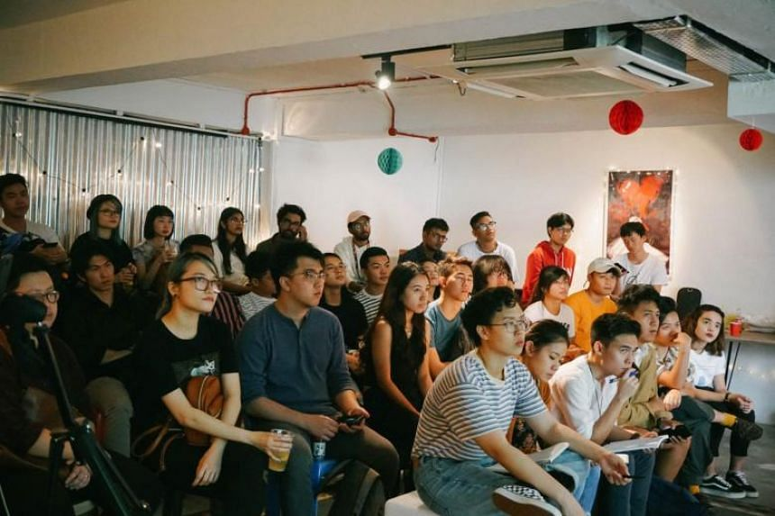 Mentees from Noise Singapore's 2018/2019 cohort at panels held with industry leaders.