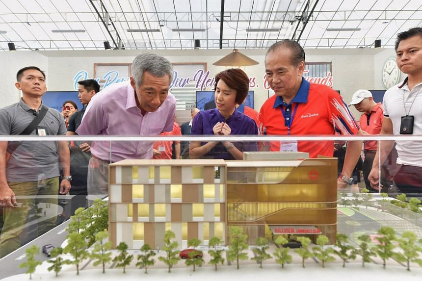 PM Lee Hsien Loong opens 'green' Hillview Community Club