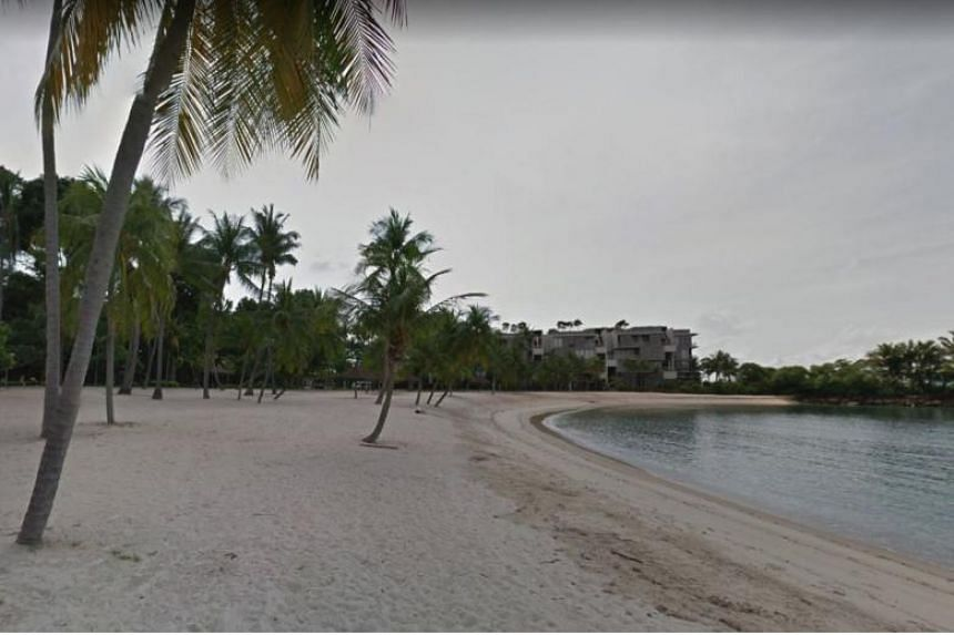 The body found at Tanjong Beach looked to belong to a man in his 40s. It was found bloated and without other visible signs of injury.