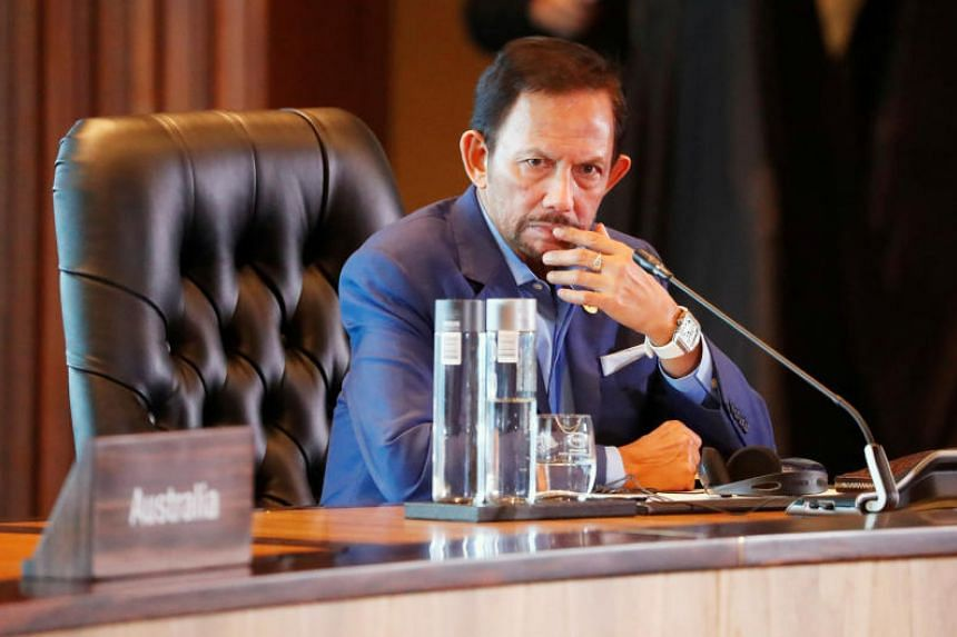 In a rare response to criticism aimed at the oil-rich state, Brunei's Sultan Hassanal Bolkiah said the death penalty would not be imposed in the implementation of the Syariah Penal Code Order.
