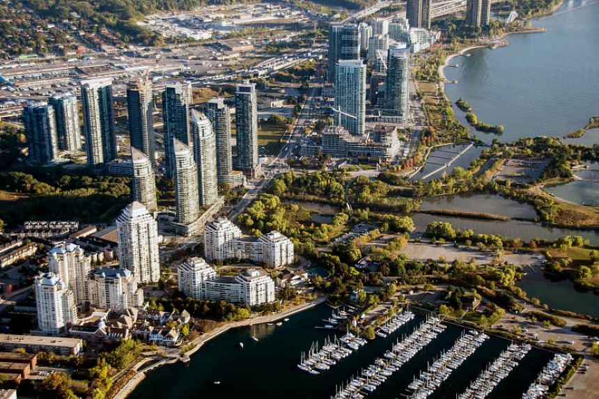 Australia, US and Canada (above) are the top destinations for millionaires on the move, according to Johannesburg-based New World Wealth.
