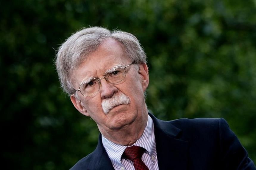"""Amid rising tensions between the US and Iran, US national security adviser John Bolton said that the decision was """"in response to a number of troubling and escalatory indications and warnings""""."""