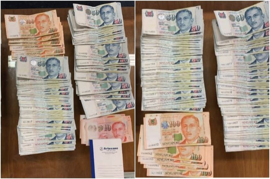 During the operation, the authorities seized $34,000 in cash, handphones and remittance transaction records.