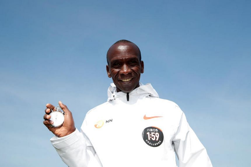 Eliud Kipchoge has won 11 of the 12 marathons he has contested and set a world record of 2:01:39 when winning the Berlin marathon in 2018.