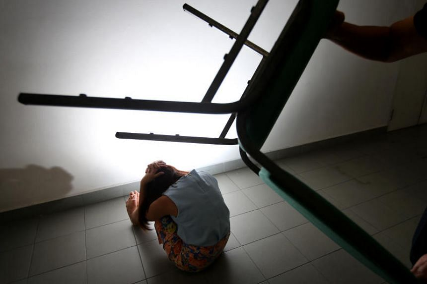 Posed photo of someone being abused. Under a proposed law, those who commit any type of crime against vulnerable people can be taken in by the police even without an arrest warrant.