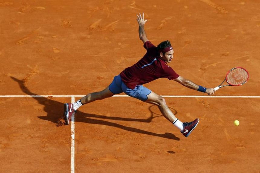 Roger Federer had skipped the clay court season the past two years since last competing in Rome in May 2016.