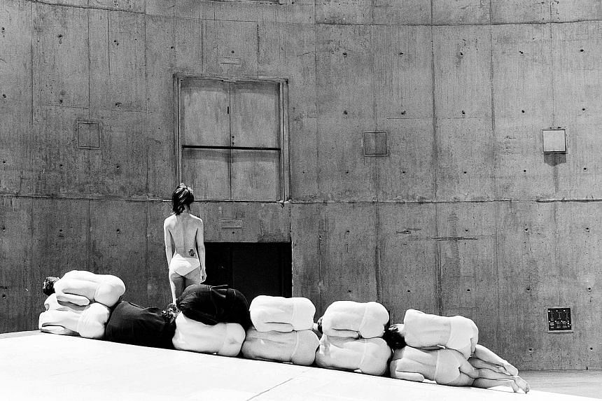 Choreographed by Sasha Waltz, Korper (above) was inspired by the architecture and symbolism of the Jewish Museum in Berlin.