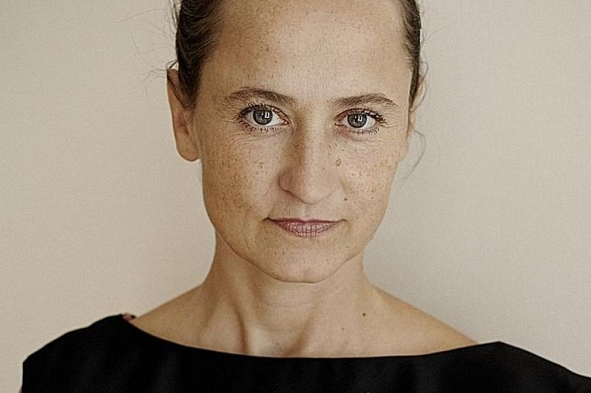 Choreographed by Sasha Waltz (above), Korper was inspired by the architecture and symbolism of the Jewish Museum in Berlin.