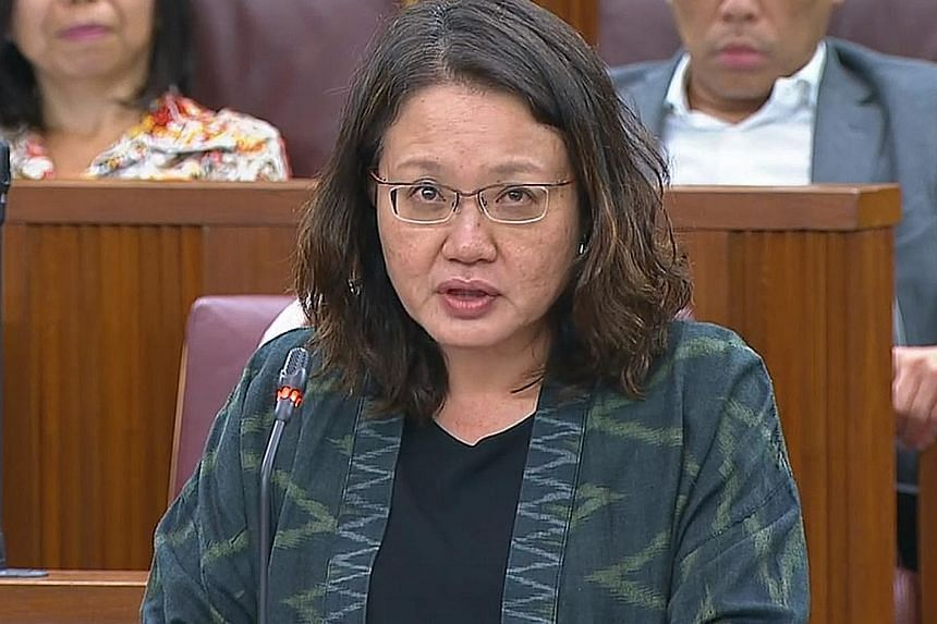 Workers' Party Chairman Sylvia Lim