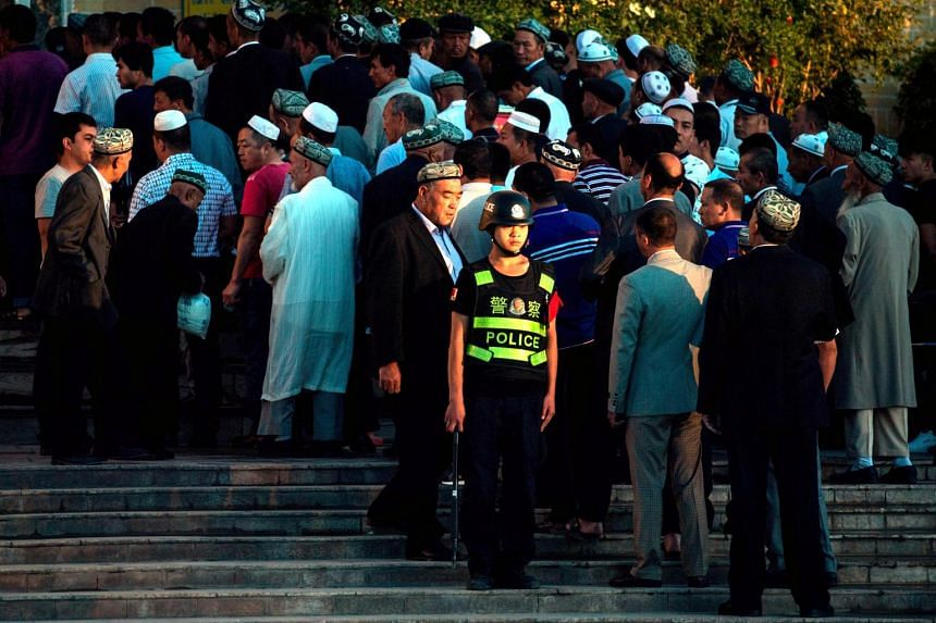 Beijing has attracted widespread criticism for placing an estimated one million Uighurs and other mostly Muslim minority groups in internment camps, which it describes as vocational education centres aimed at preventing religious extremism.