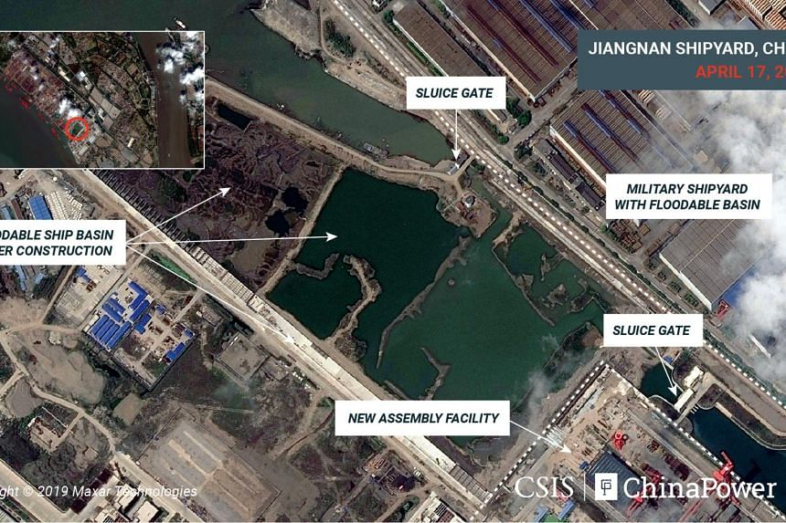 China has not formally confirmed it is building a third carrier, despite recent hints in state media, and the timing and extent of its carrier programme remain state secrets.