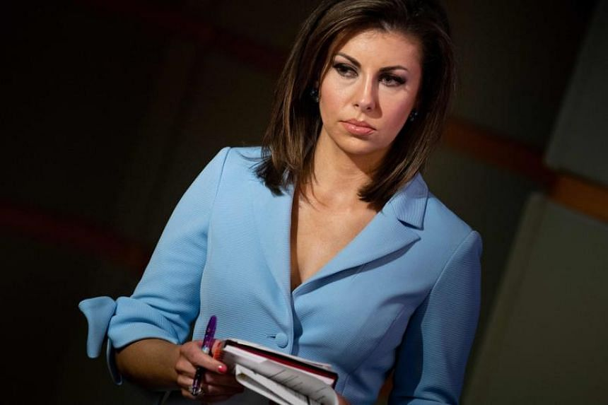State Department spokesman Morgan Ortagus at a briefing at the US Department of State in Washington, DC, on April 17, 2019.