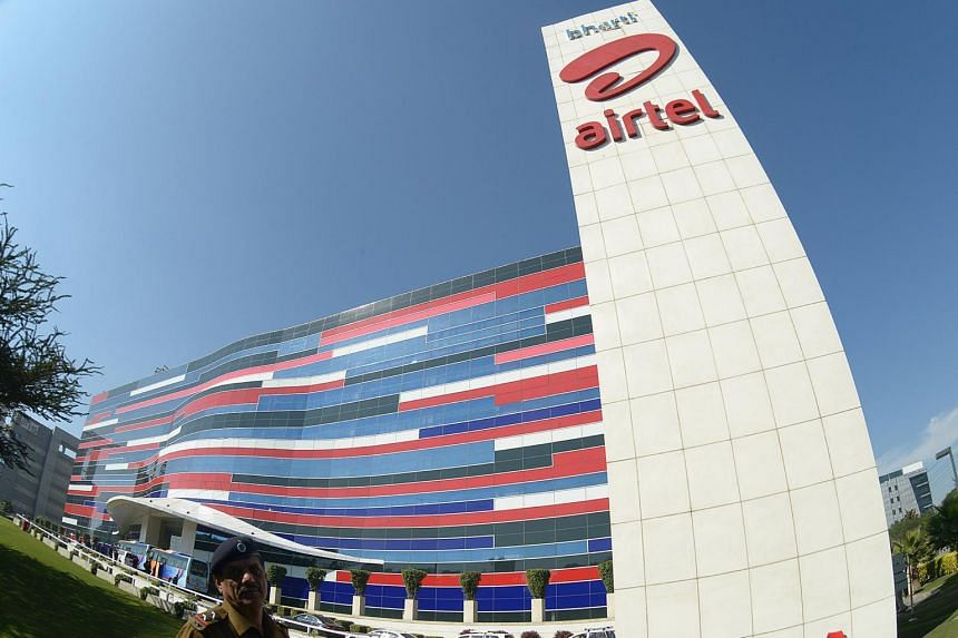 "Airtel's net income was 1.1 billion rupees (S$21.6 million) for the quarter through March boosted by a one-time net gain of 20.2 billion rupees on account of a credit related to ""re-assessment of levies""."