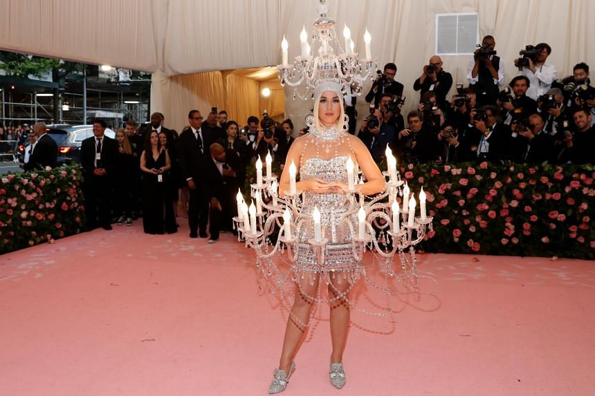 Katy Perry attends The 2019 Met Gala Celebrating Camp: Notes on Fashion at Metropolitan Museum of Art, on May 6, 2019.