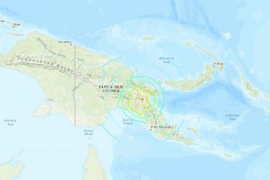 There are estimated to be around 110,000 people living within 50km of the earthquake's epicentre, according to UN data.