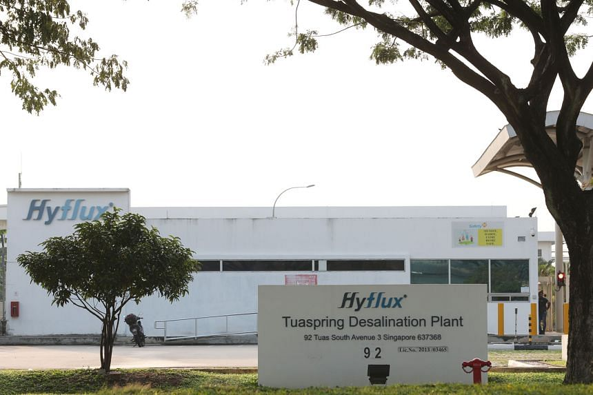 Hyflux's Tuaspring desalination plant. The struggling water treatment firm has called judicial management an expensive prelude to a long-drawn out liquidation, one that would destroy value which could otherwise be extracted for creditors under a rest