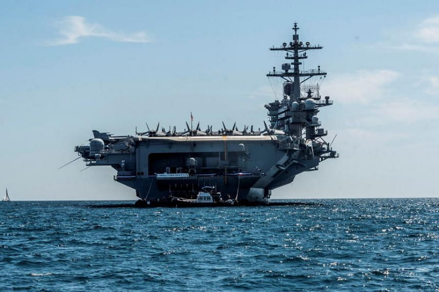 US National Security Adviser John Bolton had said the US was deploying the Abraham Lincoln carrier strike group and a bomber task force to the Middle East.