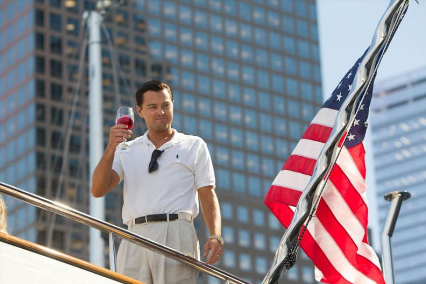 The money was part of the US$60 million forfeited by Red Granite Pictures, a US-based film production company behind Wolf Of Wall Street, starring Leonardo DiCaprio (above).