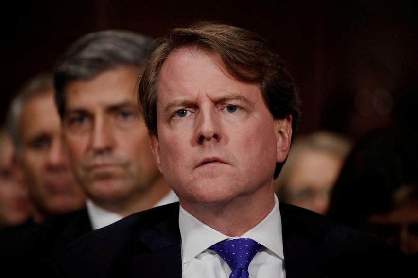Former White House counsel Don McGahn was reportedly involved in President Donald Trump's attempt to fire Special Counsel Robert Mueller.
