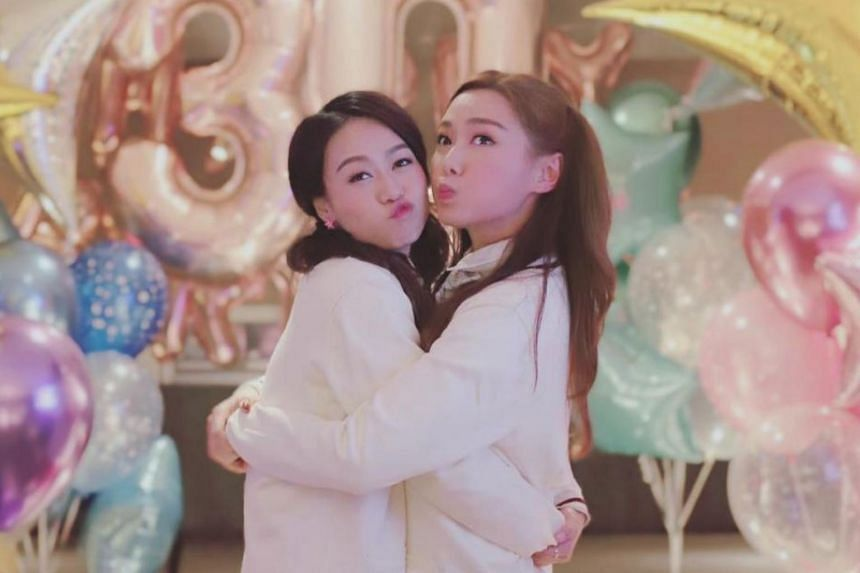 Roxanne Tong (right) will replace Jacqueline Wong, whose scenes in drama Forensic Heroes IV have to be reshot following Wong's hanky-panky with singer Andy Hui in a taxi.