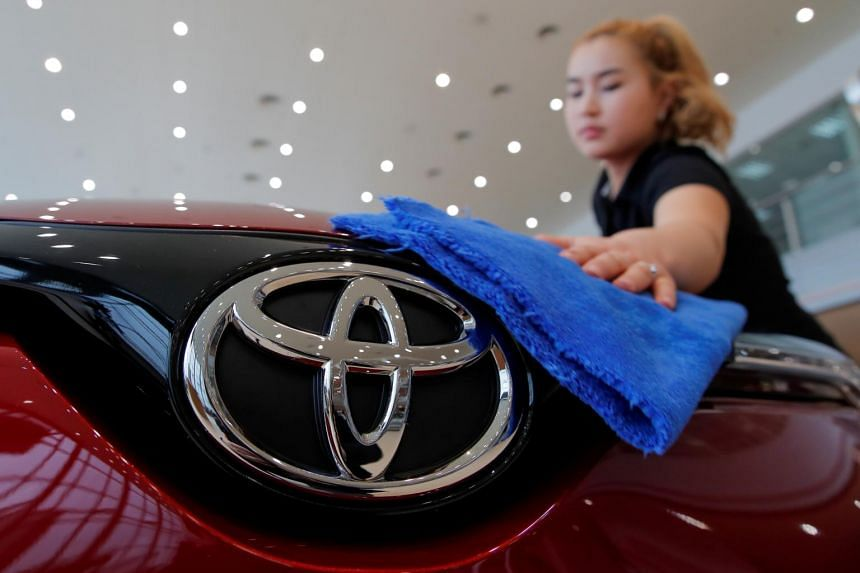 Toyota's bottom line for the past year was pushed down by some 294 billion yen in book losses on its investment portfolio.