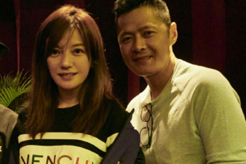 Li Nanxing and Vicki Zhao have known each other for 10 years after friends introduced them.