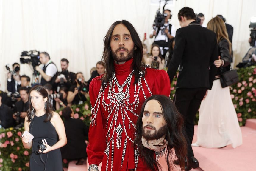 Thirty Seconds To Mars frontman Jared Leto.