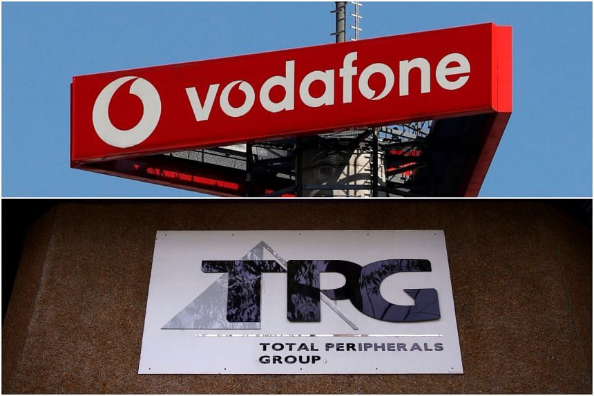TPG, Vodafone shares crash on merger block
