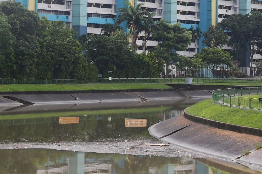 The two coffins were first spotted near Block 15 Upper Boon Keng Road.