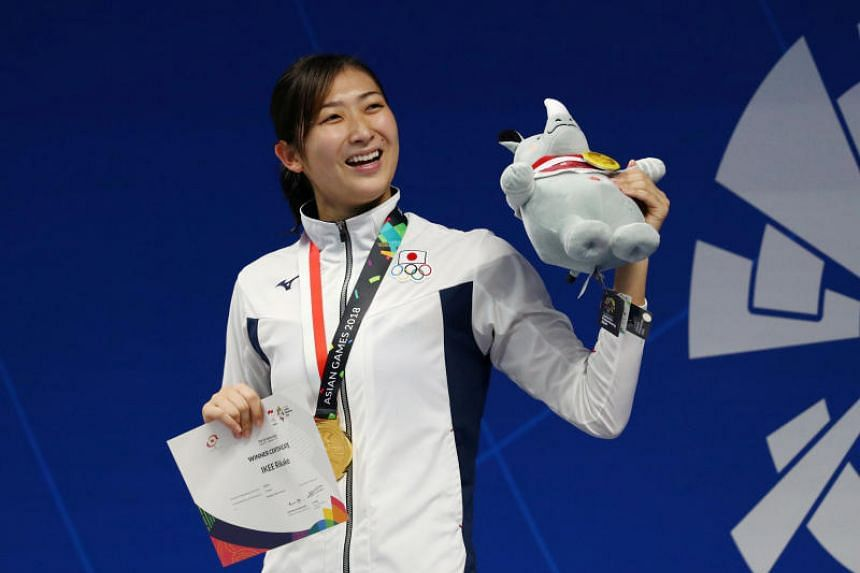 Rikako Ikee won six titles at last year's Asian Games and also picked up two relay silvers to became the first female athlete to be named the Most Valuable Player at an Asian Games.