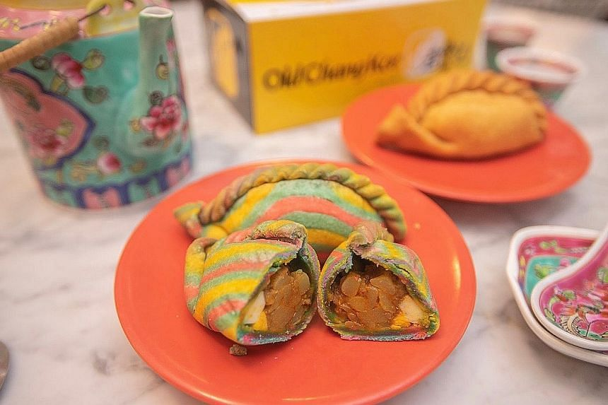Three hundred multicoloured puffs, dubbed the Unicorn'O, will be up for grabs at Old Chang Kee Coffee House @ Rex on Saturday.