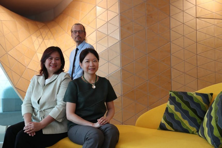 (From left) Co-principal investigator Lynn Ang, professor of early childhood at University College London; principal investigator Lasse Lipponen, professor of education at the University of Helsinki; and co-principal investigator Sirene Lim, academic