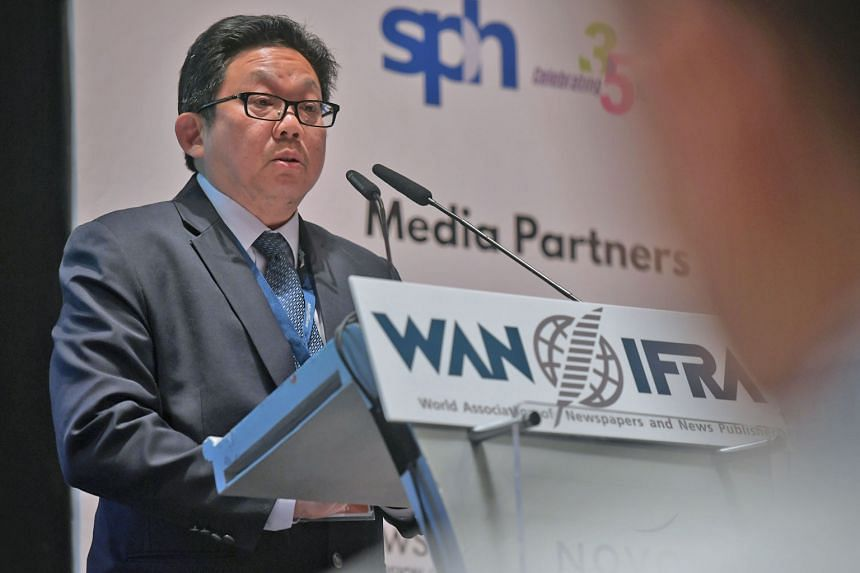 Singapore Press Holdings chief executive Ng Yat Chung says the company continues to invest in new digital capabilities to secure the future of the media business.