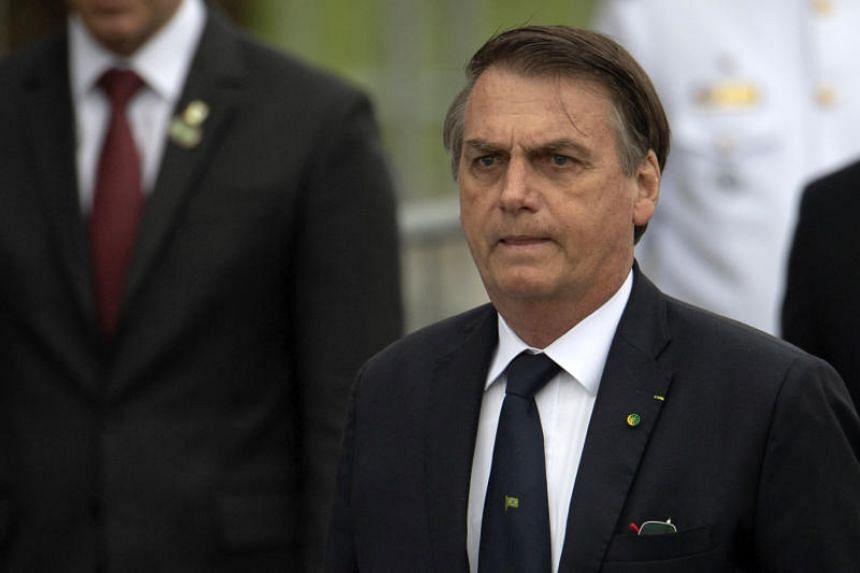 Brazil's pro-gun president Jair Bolsonaro's tough-on-crime rhetoric helped get him elected last year.