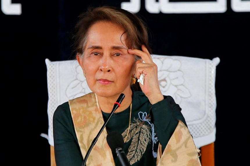 Nobel laureate Aung San Suu Kyi is seen as a pariah by many for perceived complicity in the Rohingyas' plight.