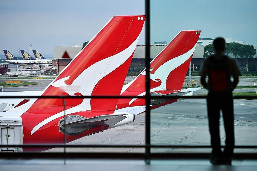 Analysts expect Qantas Airways on average to report revenue of A$18.03 billion (S$17.2 billion) for the year ending June 30, up 5.6 per cent, as more business travellers choose to fly with the airline.
