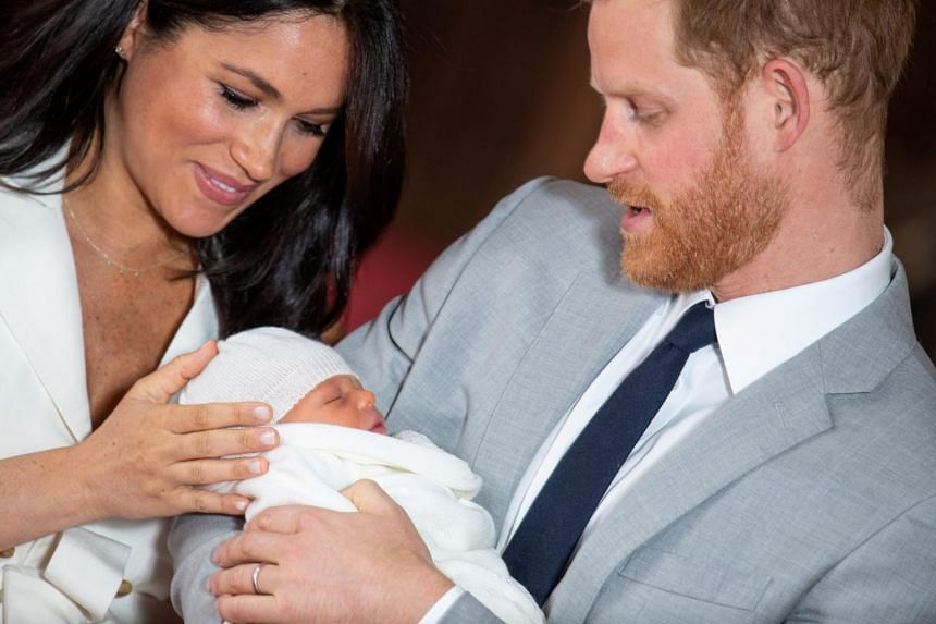 Prince Harry and his wife Meghan announced on May 8 they had named their newborn son, the seventh-in-line to the British throne, Archie.