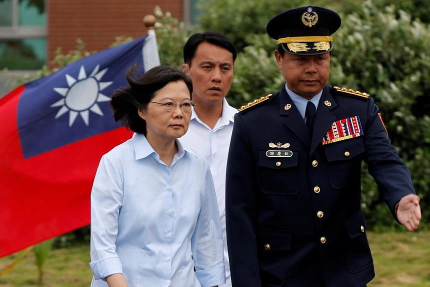 Taiwan President Tsai Ing-Wen said on May 10 that her country would deter military aggression in the Taiwan strait.