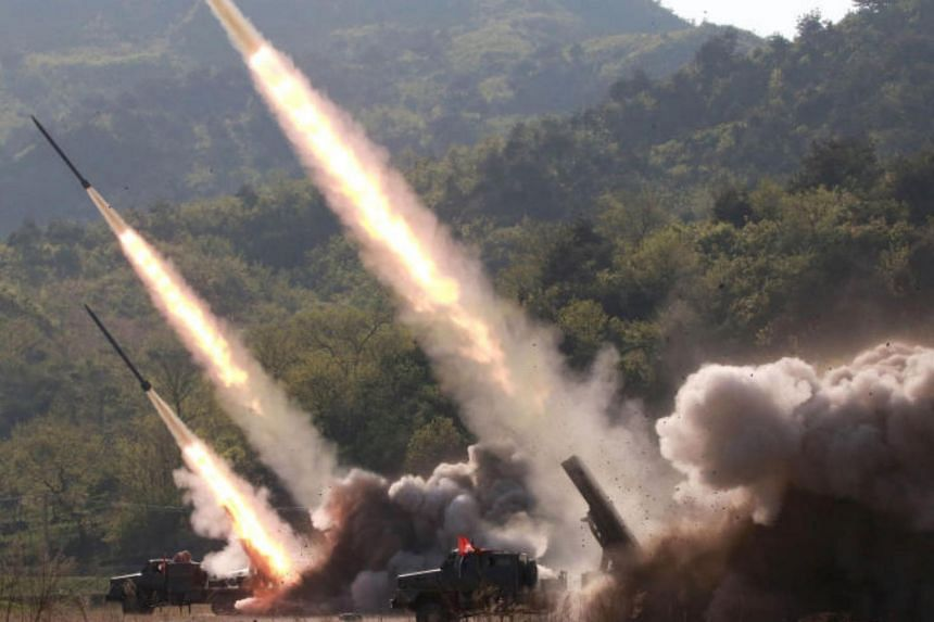 North Korea fired what appeared to be two short-range missiles on May 9, 2019, its second missile test in less than a week.