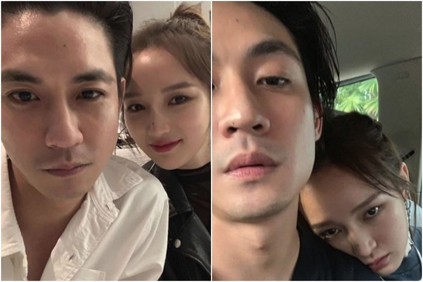 Businessman Elroy Cheo and former Miss A member Jia have posted photographs together on Instagram.