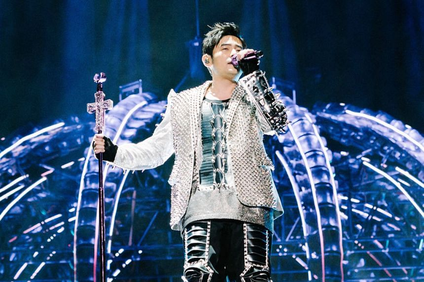 Mandopop king Jay Chou will stage two concerts at the National Stadium.