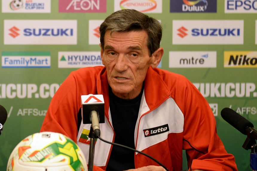 Raddy Avramovic, Singapore's most successful coach, won three Asean titles with the Lions from 2003 to 2012.