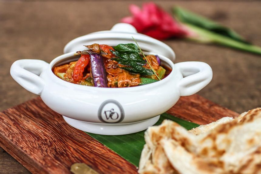 Little India Curry served at Violet Oon Singapore at Jewel Changi Singapore.