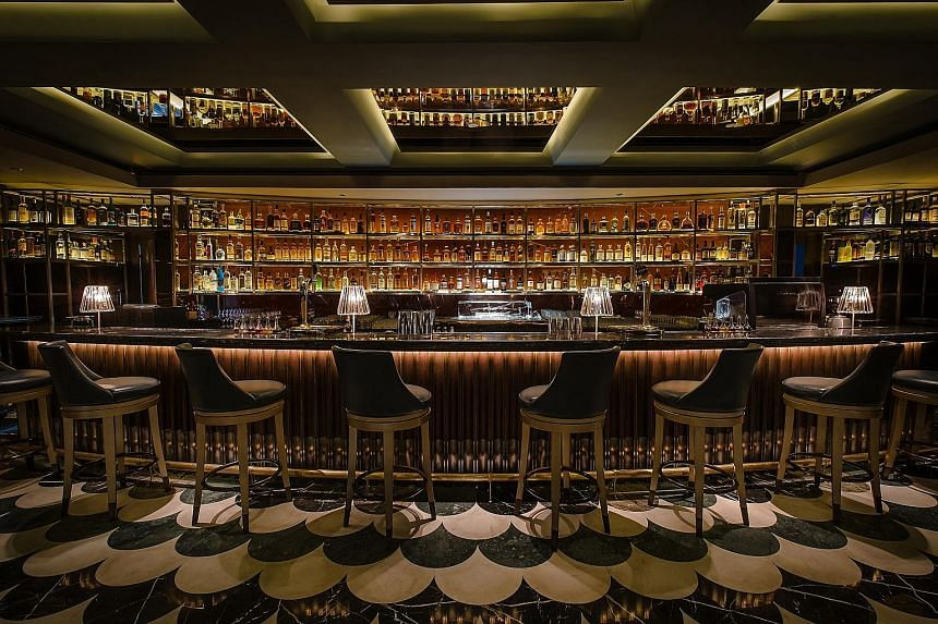 Regent Singapore's Manhattan bar, which held the No. 1 spot for two consecutive years, is No. 2.