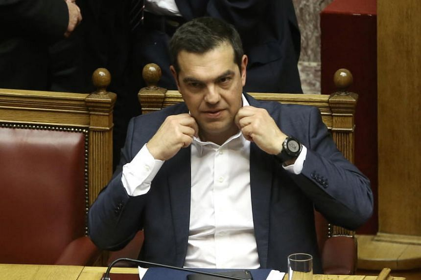 In all, 153 of 300 lawmakers voted for Tsipras, who called the confidence vote - his second of the year - after the right wing opposition sought to censure one of his government's junior ministers.